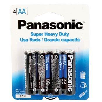 "Panasonic Super Heavy Duty Batteries ""AA"" UM-3NPA - 2 x 4 Pa"