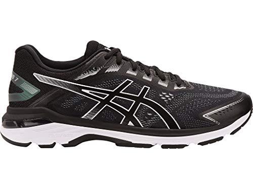 ASICS Men's GT-2000 7 Running Shoes, 9M, Black/White
