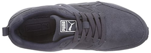 Suede Arial Sneakers periscope Adulte marshmallow Bleu Puma Basses 02 Blau Mixte 4Rf5qfw