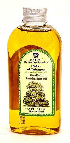 Healing Anointing Oil Cedar of Lebanon 100 ml - 3.4fl oz.From Holyland Jerusalem (100ml)