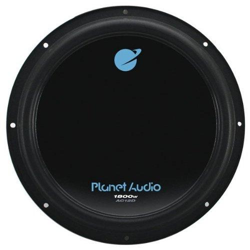 Planet Audio AC10D Anarchy Dual 4 Ohm Voice Coil 10' 1500W Car Subwoofer (pair)