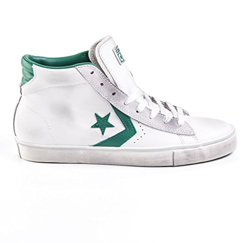 Converse Pro Leather Vulc - Zapatillas abotinadas hombre WHITE/POOL
