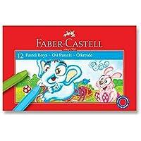 Faber-Castell 5282125312 Pastel Boya, 12 Renk