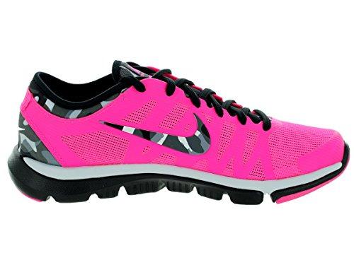 Nike Womens Flex Supreme Tr 3 Scarpa Da Allenamento Con Stampa Rosa Pow / Pr Pltnm / Blck / Anthrct