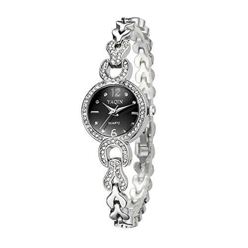 Jewelry Diamond Rhinestone Bracelet Wristwatch