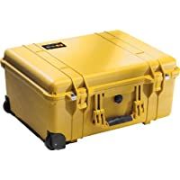 Pelican 1560 Camera Case With Foam (Yellow)