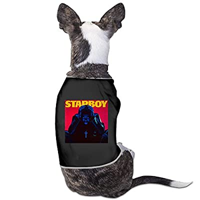 The Weeknd - Starboy Daft Punk Dog Clothes Sweaters Dog Shirt