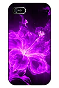 SPRAWL@DESIGN Beauty Design Hard Back Shell Case Cover for IPHONE 5 5G 5S --Rose Flame