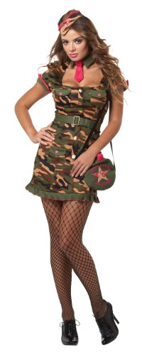 California Costumes Eye Candy Private First Class, Multi, X-Large Costume
