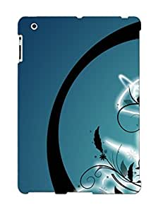 For Ipad 2/3/4 Fashion Design Enlightened Flowers Case-EWPOEQW1310GPTYA / Cover Specially Made For Thanksgiving Day's Gift