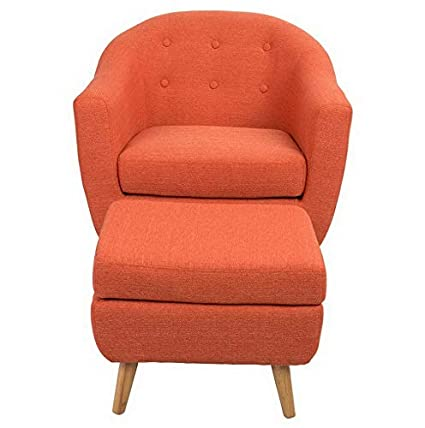 Amazon.com: Hebel Rockwell Mid-Century Modern Chair with ...