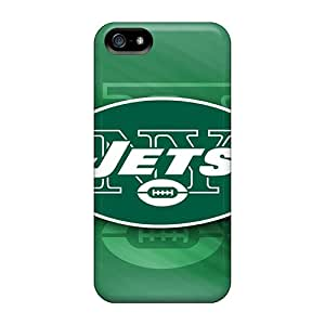 PHVagMW-4077 Faddish New York Jets Case Cover For Iphone 5/5s