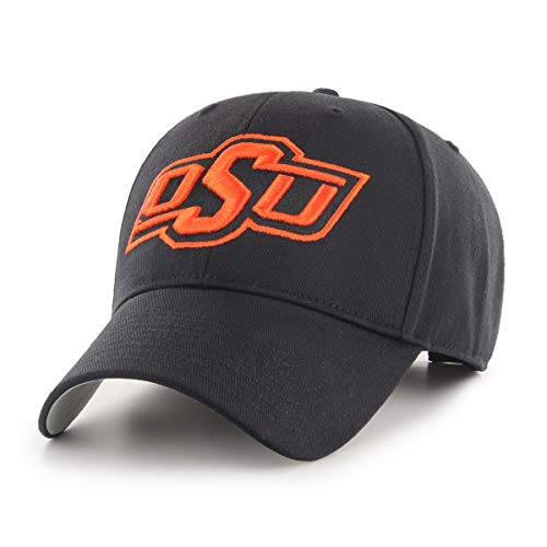 Oklahoma State University Logos - NCAA Oklahoma State Cowboys OTS All-Star MVP Adjustable Hat, Black, One Size