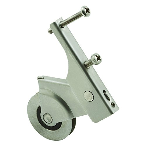 Prime-Line Products B 741 Screen Door Roller Assembly with 1-1/4-Inch Stainless Steel Ball Bearing Wheel,(Pack of 2) -