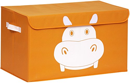 Katabird Storage Bin For Toy Storage   Large   Collapsible Chest Box Toys Organizer With Lid For Kids Playroom  Baby Clothing  Children Books  Stuffed Animal  Gift Baskets