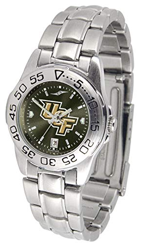 Central Florida Knights - Ladies' Sport Steel - Steel Knights Sport Ladies Watch
