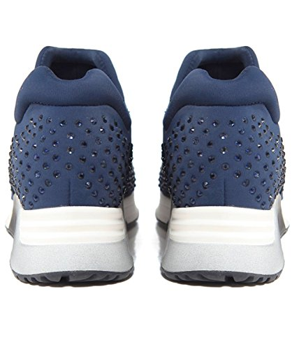 Ash Mujeres Lifting Textile Trainers Navy