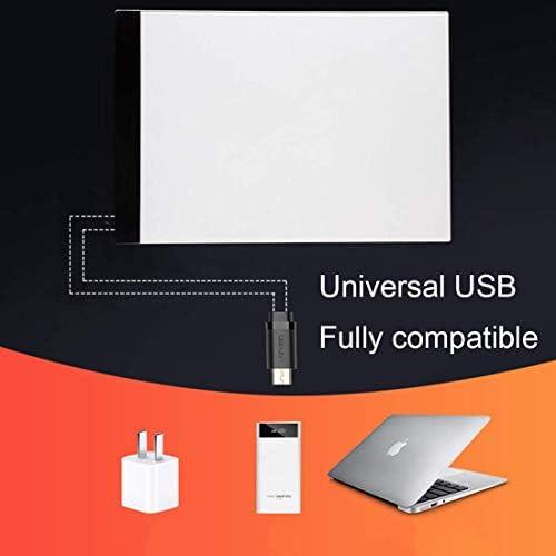 Dljyy Digitale Zeichenplatte A4 Größe LED-Schreiben Tablet großer Bildschirm, elektronisches Digital-Zeichenbrett Doodle Pad for Büro-Schule Homeing