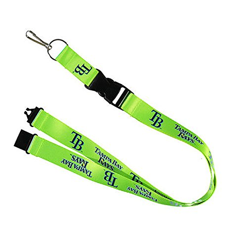 Tampa Bay Neon Green Breakaway Lanyard Key Chain