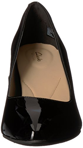 Rose Patent Clarks Calla Women's Leather Pump Black PxqfE7qw