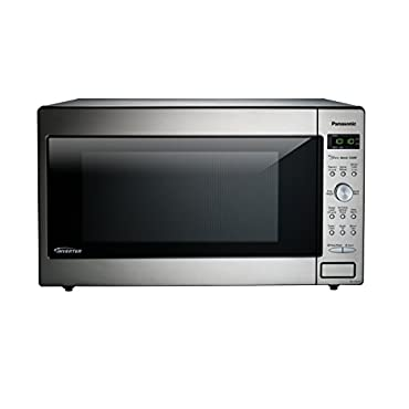 Panasonic NN-SD945S Countertop/Built-In Microwave with Inverter Technology, 2.2  cu. ft., Stainless