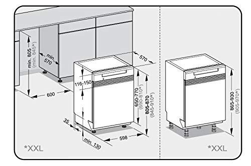 Totalmente integrado, Tama/ño completo Miele PG 8133 SCVi lavavajilla Totalmente integrado 14 cubiertos A++ Lavavajillas 60 cm , Botones, 1,7 m, Fr/ío, Caliente, Caj/ón