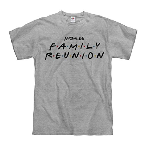 - Men's Knowles Family Reunion Matching: Unisex Fruit of The Loom Midweight T-Shirt