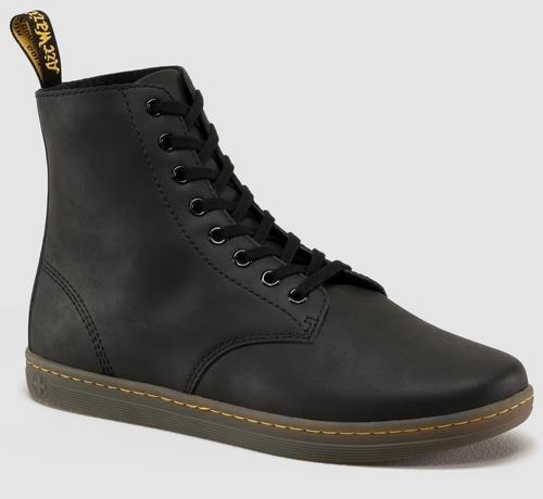 Dr. Martens Men's Tobias Boot,Black Greasy Lamper,9 UK/10 M (Dr Doc Martens)