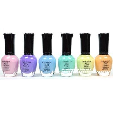 pastel nail polish set - 4