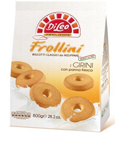 2 opinioni per DiLeo Frollini Girini con Panna Fresca- 800 gr
