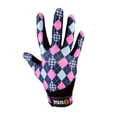 Noble Outfitters Perfect Fit Riding Gloves French Pink 6