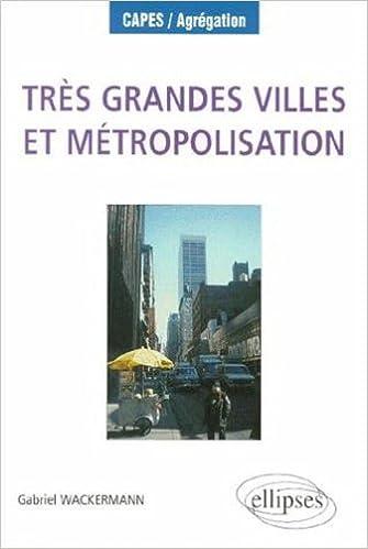 Lire Très grandes villes et métropolisation epub pdf