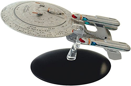 (SPECIAL Star Trek Future Enterprise-D Die Cast Ship from Eaglemoss)