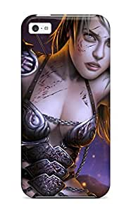 Diy Yourself Bridget Robertson Iphone 5c Well-designed case cover 0Ii6pLK4uDk Women Warrior Protector