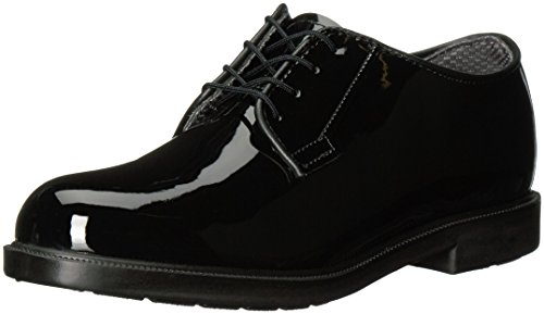 Bates Women's High Gloss Durashocks Shoe,Black,9 W US (Bates High Gloss Leather)