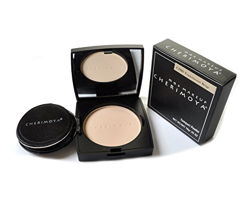- Cherimoya Max Makeup Compact Powder Translucent Beige 0.35 Oz