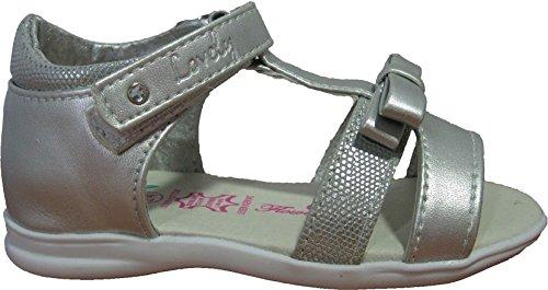 Sandales argentées pour filles
