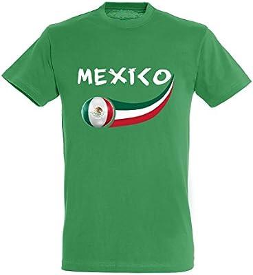 Supportershop – 8 Camiseta México niño 8 para niño, Verde, FR: L (Talla Fabricante: 8 años): Amazon.es: Deportes y aire libre
