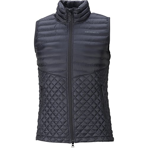 Merrell Micro-Lite Puffer Vest Women XS Black