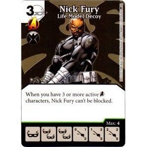 Dice Masters - Nick Fury: Life Model Decoy ()