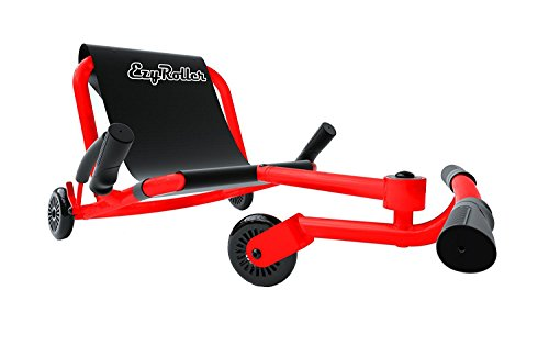 Ezyroller Ride On Toy - New Twist On A Classic Scooter - Neon Red