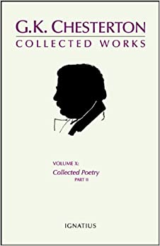 Descargar En Utorrent The Collected Works Of G. K. Chesterton, Volume 10: Collected Poetry, Part Iii Gratis Epub