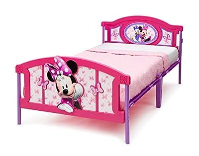 Delta Children Plastic 3D Twin Bed