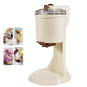 Ice Cream Maker, 1L Automatico Macchina del Gelato con Rimovibile Ice Cream Container E Pala del Silicone, Gelato Makers… 8 spesavip