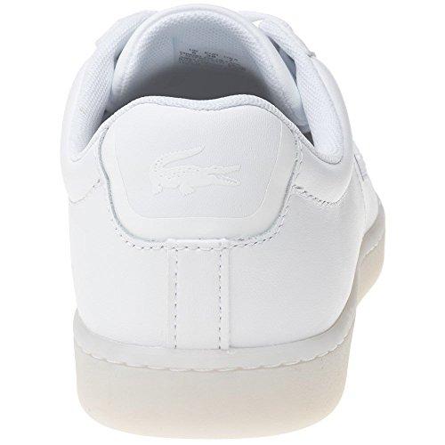 Lacoste Carnaby Evo Dames Tennisschoen Wit Wit