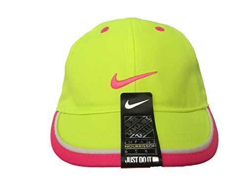 ae140d6065ffb Jual NIKE Just Do It Sports Hat Adjustable Sun Cap (4-6X) (Volt w ...
