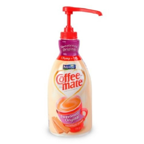 Liquid Coffee Creamer, Sweetened Original, 1500mL Pump Dispenser, Sold as 1 Each