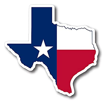 amazon com state of texas outline reflective decal automotive