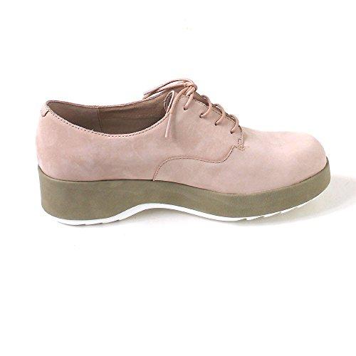 CAMPER - Zapatos de cordones de Piel para mujer rosa Rosa (lara derma/dessa oilylusion cong-blanco) Rosa (lara derma/dessa oilylusion cong-blanco)