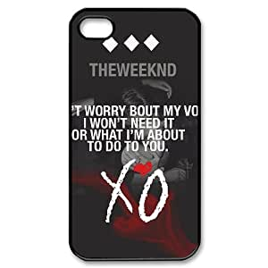 XOXOX Phone case Of The Weeknd XO Cover Case For Iphone 4/4s [Pattern-3]